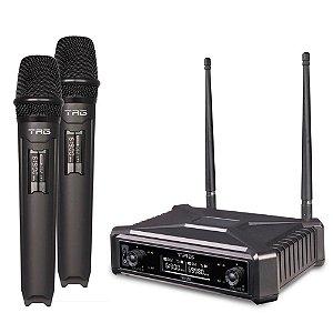 Microfone Sem Fio Duplo Digital TAG SOUND TMJ 500