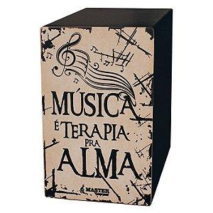 Cajon Eletrico Master - Musica Terapia