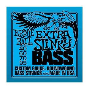 Encordoamento Contrabaixo Erniel Ball 4 Cordas 040