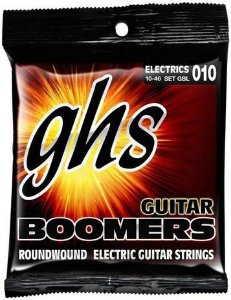 Encordoamento Guitarra GHS 010 GBL