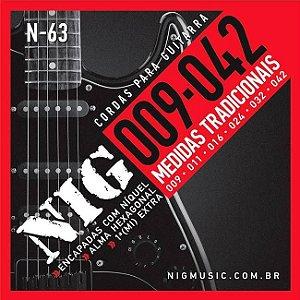 Encordoamento NIG Guitarra Leve 009 N63