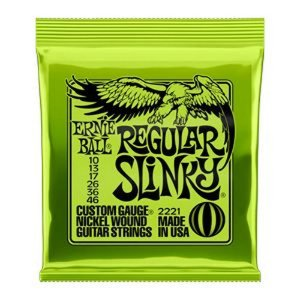 Encordoamento Guitarra Ernie Ball Slink Niquel P02221