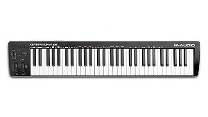 Teclado Controlador M-Audio Keystation 61 MK3 61 Teclas USB