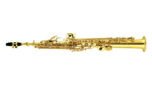 Saxofone Soprano Reto Shelter Com Estojo SFT6433 Laqueado