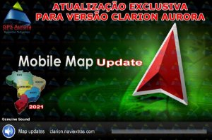 Atualização Clarion Aurora para NX501 Séries - Brasil 2021 + Radares e Pontos de Intereresses