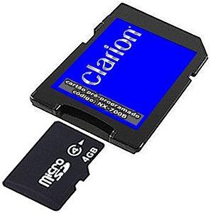 Cartão Clarion para Central Multimídia Nx-700_700b 2020