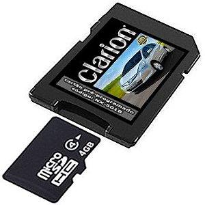 Cartão Clarion para Central Multimídia NX-501B 2019