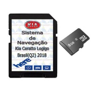 Cartão Gps Logigo 2018-2019 Central Multimídia Kia Cerato