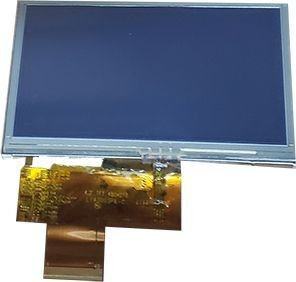 Tela Display LCD+Touch Quatro Rodas 4.3