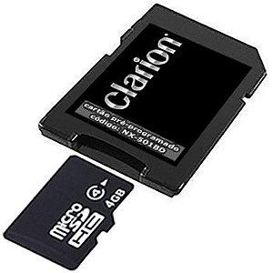 Cartão Clarion para Central Multimídia NX-501BD 2019-2020-2021