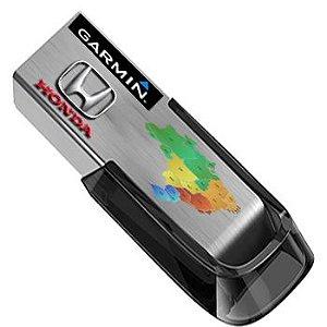 Pen Drive de Atualização Honda CRV/HRV Garmin América do Sul 2020