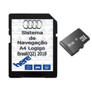 Cartão Gps Logigo 2018-2019 Central Multimidia Audi A4