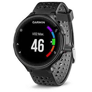 Relógio Garmin Forerunner 235 com Monitor Cardíaco+GPS e Bluetooth Preto