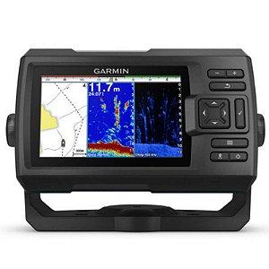"""GPS Sonar Striker 5CV Plus Garmin com Tela de 5"""" com Transdutor para Sonar Chirp"""