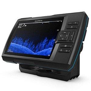 """GPS Sonar Striker 7CV Vivid Garmin com Tela de 7"""" com Transdutor para Sonar Chirp"""