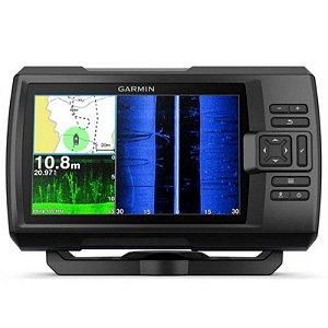 """GPS Sonar Striker 7SV Plus Garmin - Tela de 7"""" com Transdutor para Sonar Chirp"""