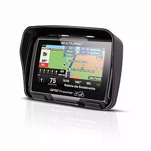 """GPS Multilaser para MOTO 4.3"""" emborrachado + Bluetooth + Primo MotorCycle 2019"""