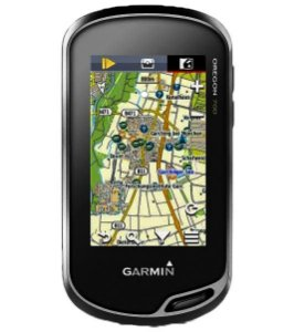 GPS Esportivo Garmin Oregon 750 - 1.7GB Touchscreen com Wi-Fi com Mapa Topoactive América do Sul 2020