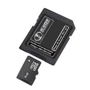 Cartão Hbuster 2019 Multimídia Honda City SD Card HBO-8912