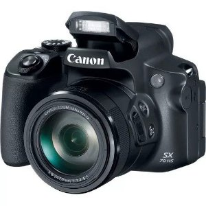 Câmera Digital Canon Powershot SX70 Hs 65x Zoom 20.3 Mp