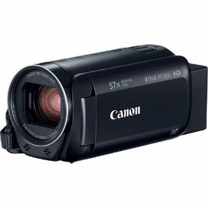 "Filmadora Digital Canon Vixia HF R800 Preto Zoom X57, LCD 3"" Full HD"