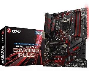 Placa Mãe MSI MPG Z390 Gaming Plus Intel 1151 DDR4