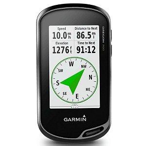 GPS Esportivo Garmin Oregon 700 - 7GB Touchscreen com Wi-Fi  com Mapa Topoactive America do Sul 2020