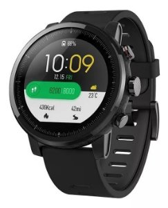 Smartwatch Xiaomi Amazifit Stratos A1619 Original - Preto