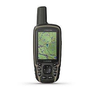 Gps Portátil Garmin Gpsmap 64SX Altimetro Barométrico 8GB interface  NMEA 0183 - Lançamento