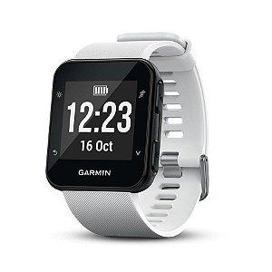 Relógio Esportivo Garmin Forerunner 35 Branco e Frequencímetro Cardíaco
