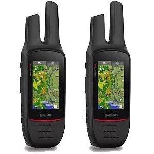 Kit 2 GPS Portátil Garmin Rino 750 - Radio Comunicador Bi-Direcional