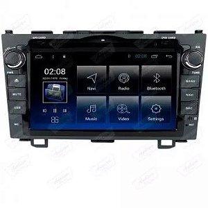 Central Multimídia Aikon Plataforma 8.8 Honda CRV 2005-2011 Android 8.1 com DVD