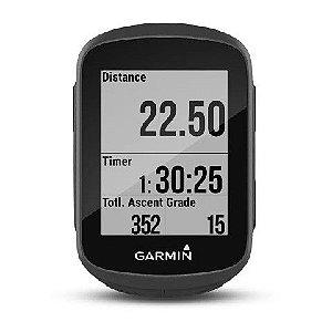 """Ciclocomputador Garmin Edge 130 com Tela de 1.8"""" com GPS Compatível e VIRB + Cinta"""