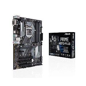 Placa Mãe Asus Prime H370-Plus Intel Soquete LGA 1151