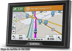 GPS Automotivo Garmin Drive 61 com Mapa da América do Sul 2020 e Alerta Total de Radares