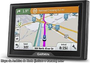 GPS Automotivo Garmin Drive 61 com Mapa da América do Norte 2020 e Milhões de pontos de interesses