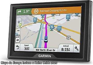GPS Automotivo Garmin Drive 61 com Mapa da Europa 2020 e Milhões de pontos de interesses