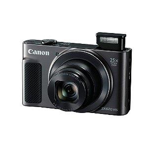 Câmera Digital Canon Powershot SX620 HS 25x Zoom 20.2 Mp Full HD