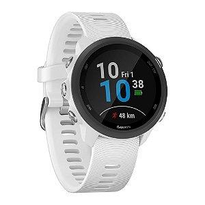 Relógio Garmin Forerunner 245 Music com Monitor Cardíaco+GPS e Bluetooth Branco