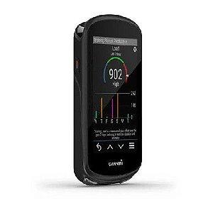 Ciclocomputador Garmin Edge 1030 PLUS Kit Ciclismo Preto e GPS com Conetividade - Lançamento inteligente