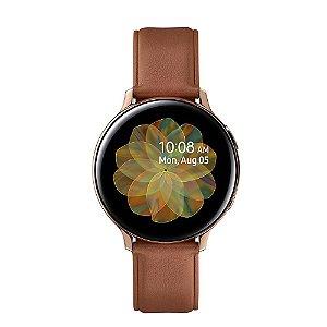 Smartwatch Samsung Galaxy Watch ACTIVE2 Aço Inoxidável SM-R820NS - Dourado