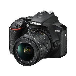 """Câmera Digital Profissional Nikon D3500 24.2MP 3.0"""" Lente AF-P DX NIKKOR 18-55MM VR"""