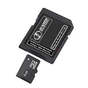 Cartão Hbuster 2020 Multimídia Toyota Corolla SD Card HBO-8922