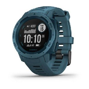 Relógio Garmin Instinct Azul Lakeside com GPS e Monitor Cardíaco no Pulso