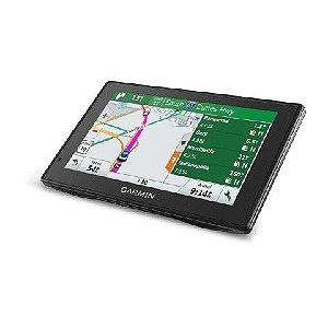 GPS Automotivo Garmin DriveSmart 60 Comando de Voz com Mapa da Europa 2021.30