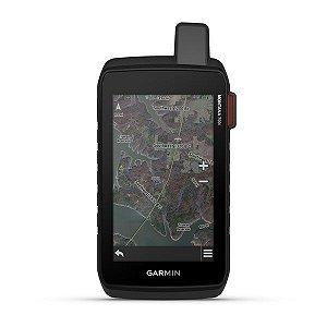 """GPS Garmin Montana 700i + Câmera de 8MP de 5"""" e Gerenciador de Rastreio InReach SOS 16GB + Mapa Terrestre 2021"""