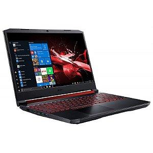 """Notebook Acer Gamer Nitro 5 AN515-54-599H Intel Core i5-9300H 9Ger. 2.40GHz - RAM de 8GB - 1GB SATA+512GB SSD - GeForce GTX 1650 4GB - 15.6"""" Full HD - Bluetooth-WiFi - Windows 10"""