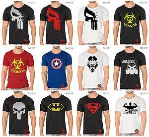 Camisetas masculina para academia e uso casual ! Escolha os modelos