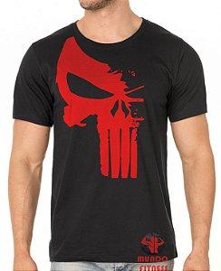 Camiseta Justiceiro vermelho