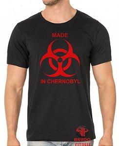 Camiseta Made in Chernobyl
